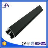 Alta calidad 6063-T5 marco anodizado de aluminio Negro (BA-337)