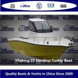 Vissersboot van Yfishing 21 Hardtop