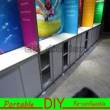 تصميم جديدة, عمليّة بيع حارّ, ألومنيوم يتاجر عرض مقصورة, [بورتبل] قابل للاستعمال تكرارا يعلن عرض