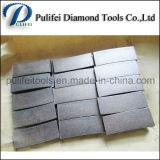 강철의 대리석 세그먼트는 다이아몬드 원형 절단 잎을 보았다
