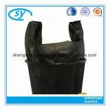 Saco de portador plástico do lixo do HDPE material novo