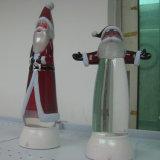 Display de resina de poliéster acrílico transparente / A base redonda de resina acrílica de poliéster / acrílico