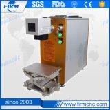 新しいデザインおよび熱い販売20W CNCのファイバーレーザーMarkting機械FM20f
