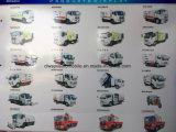 De Straatveger van Dongfeng 4X2 1800 tot 1950 Gallons Vrachtwagen van de Straat van de Vegende