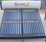 2016 fiable evacuado del tubo para no Calentador de agua solar de la presión