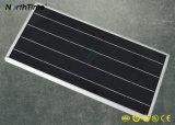 Luz automática do jardim do controle de tempo 18W-60W do painel quente de Sunpower da venda