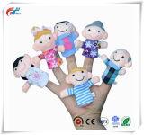 I burattini della barretta per i bambini, l'animale sveglio del velluto e lo stile di famiglia, le esposizioni, Playtime, istruisce i giocattoli dei puntelli delle bambole