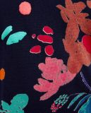 Frauen-beiläufige Pullover-Strickjacke mit bunten Drucken