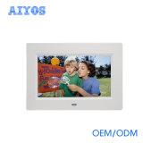 Montaje en pared de 7 pulgadas LCD Digital Photo Frame apoyo la tarjeta SD y USB Flash