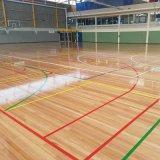 Chercher du bois PVC 4,5mm court de badminton Rouleau de revêtement de sol