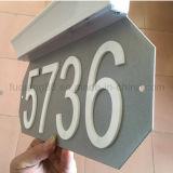 Números de casa de acrílico con el imán fuerte