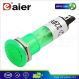 赤いYellow Blue Green Neonled Indicator Lamp 220V (XD10-1)