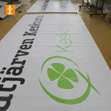 カスタム印刷を用いる屋外の頑丈なPVC 13ozビニールの網の屈曲の旗