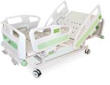 Bed van de Verzorging van Furnitures van het ziekenhuis het Elektrische Geduldige Regelbare met Lijst