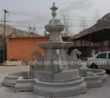 De aard Gesneden Fontein van het Water van de Decoratie van de Tuin Marmeren