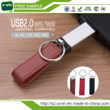 2017 promotionnel style style cuir USB flash drive