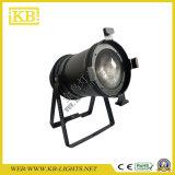 PAR64 ESPIGA LED PAR LED luz de iluminação de palco com zoom eléctrico