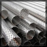 Métal perforé perforé direct d'acier du carbone de treillis métallique d'usine