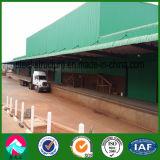 Almacén prefabricado de la estructura de acero en Malawi