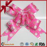 Geschenk-Farbbänder für Verpackungs-Gebrauch-Großverkauf-Zug-Bogen