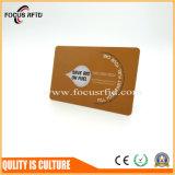 Cartão da alta qualidade com melhor material do PVC e entrega rápida