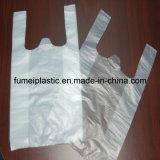 Plástico de materia prima biodegradable Camiseta bolso para ir de compras