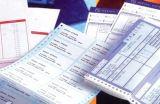 Documento senza carbonio e carta per copie dell'ncr