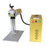 Macchina portatile della marcatura del laser della macchina della marcatura del laser della fibra dell'argento dell'oro di Focuslaser mini da vendere