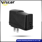 5V 2d'un chargeur USB avec UL/UK/UE/au connecteur