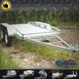 De sterke en Gegalvaniseerde Mobiele Aanhangwagen van 2 As