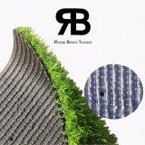 25mmの反紫外線景色の総合的な人工的な草のカーペットのホーム装飾