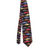Cravate en soie 100% soie en polyester sur mesure (NT-002)