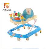 Blauer Farben-Baby-Wanderer mit Schwenker-Rädern