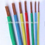 Fio elétrico do PVC Insualted de BV2.5mm2 10mm2 25mm2