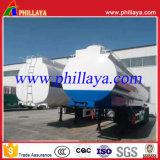 반 중국 3 차축 50cbm 연료 또는 유조선 트레일러 또는 탱크 트레일러