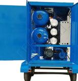 Épurateur de pétrole de transformateur de vide avec le système de régénération