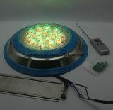 L'indicatore luminoso subacqueo 12V IP68 del raggruppamento del LED impermeabilizza 72W fissato al muro