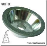 Abrasive circulaire ronde meulage roue de diamants pour le papier hygiénique Sharping papier Couteau à lame de coupe