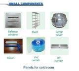 Congelador de almacenamiento en frío Panel de habitaciones con cerradura de la leva