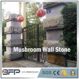 Seta de color gris de Revestimiento de pared de piedra para la decoración del paisaje