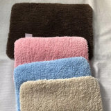 De microfibras de banho de absorção de água anticorrosão Non-Slip Tapete durável Tapete de cozinha elegante brilhante esplendor nunca Fading