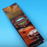 Sacchetti di caffè lucidi della stagnola con il legame dello stagno e della valvola, sacchetto di caffè con il disegno
