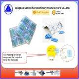 Liquide automatique de couvre-tapis de moustique injectant et machine à emballer