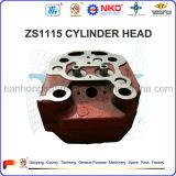 Culasse du moteur diesel S1115 pour l'entraîneur (cylindre simple, rappe quatre, changchai)