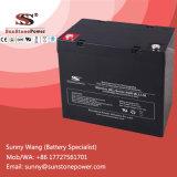 Type batteries d'AGM scellé par cycle profond d'UPS de la batterie solaire 12V 50ah