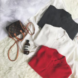 2018명의 숙녀는 봄과 가을을%s 찢긴 스웨터 땅딸막한 스웨터 형식을 괴롭혔다