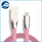 3FT USB-Typ C bis USB ein 2.0 schnelles aufladendatenübertragung-Kabel-Zink-Legierung flaches Kabel USB-C für Smartphone