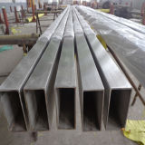 Tuyaux rectangulaires en acier inoxydable en acier inoxydable poli