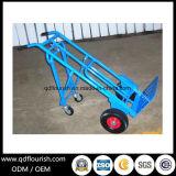 4 wielen die de Vrachtwagen van de Hand van het Karretje van de Hand voor het Gebruik van de Opslag vouwen