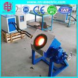 銅、鉄、アルミニウム、金の溶けることのための誘導なら溶ける炉